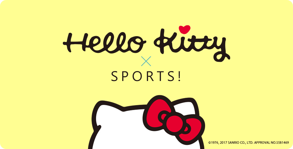 Hello kitty×SPORTS!